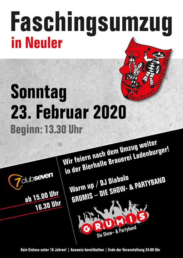 Getränkestand Faschingsumzug Neuler - besuchen Sie uns beim alten Rathaus! @ Getränkestand beim alten Rathaus | Neuler | Baden-Württemberg | Deutschland